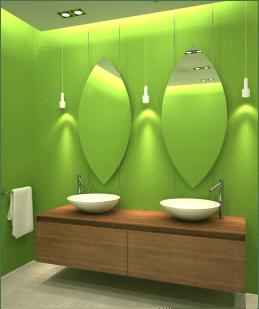LEDs inside task lighting can work as a design element