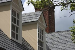 This Slate Roof can last up to 100 years.
