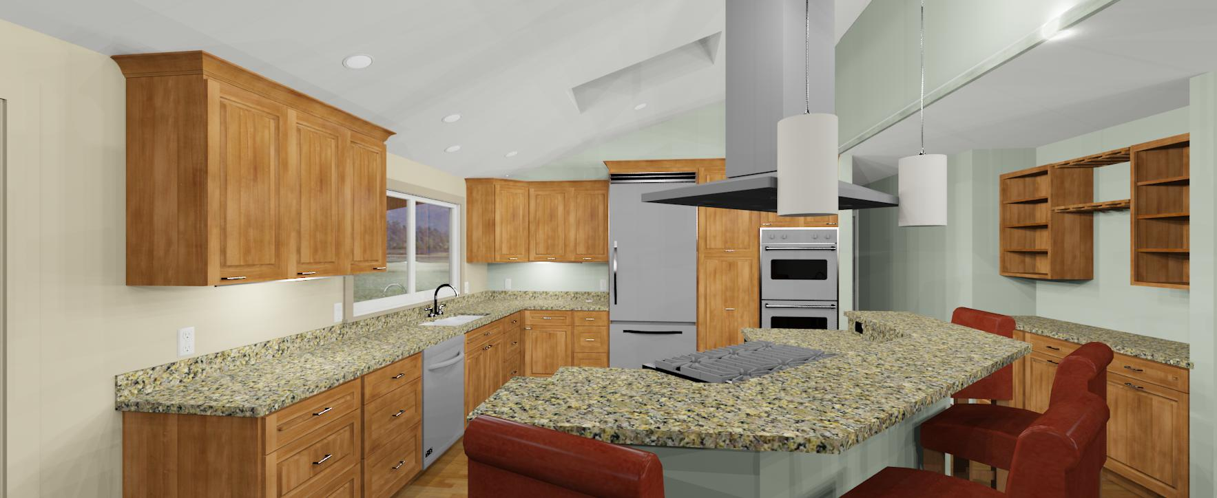 3d kitchen counter top