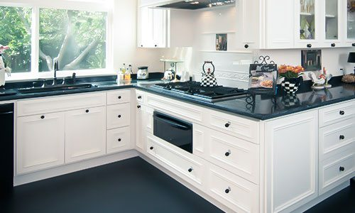 black counter tops