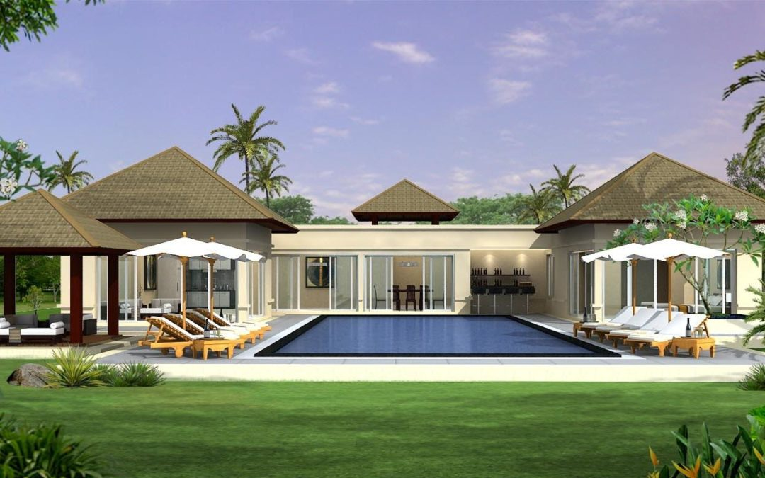 tropical style home