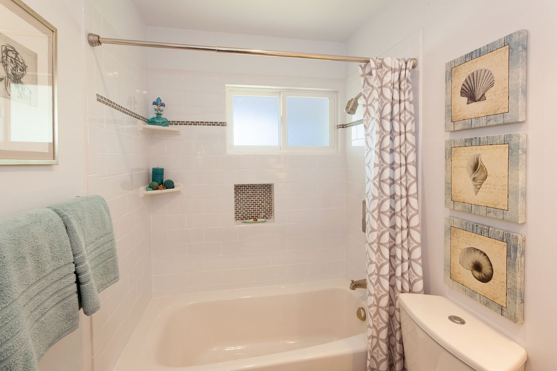 Cozy Concord Bath Walk In Closet Copper Shower Rod Open Concept Bathroom ...