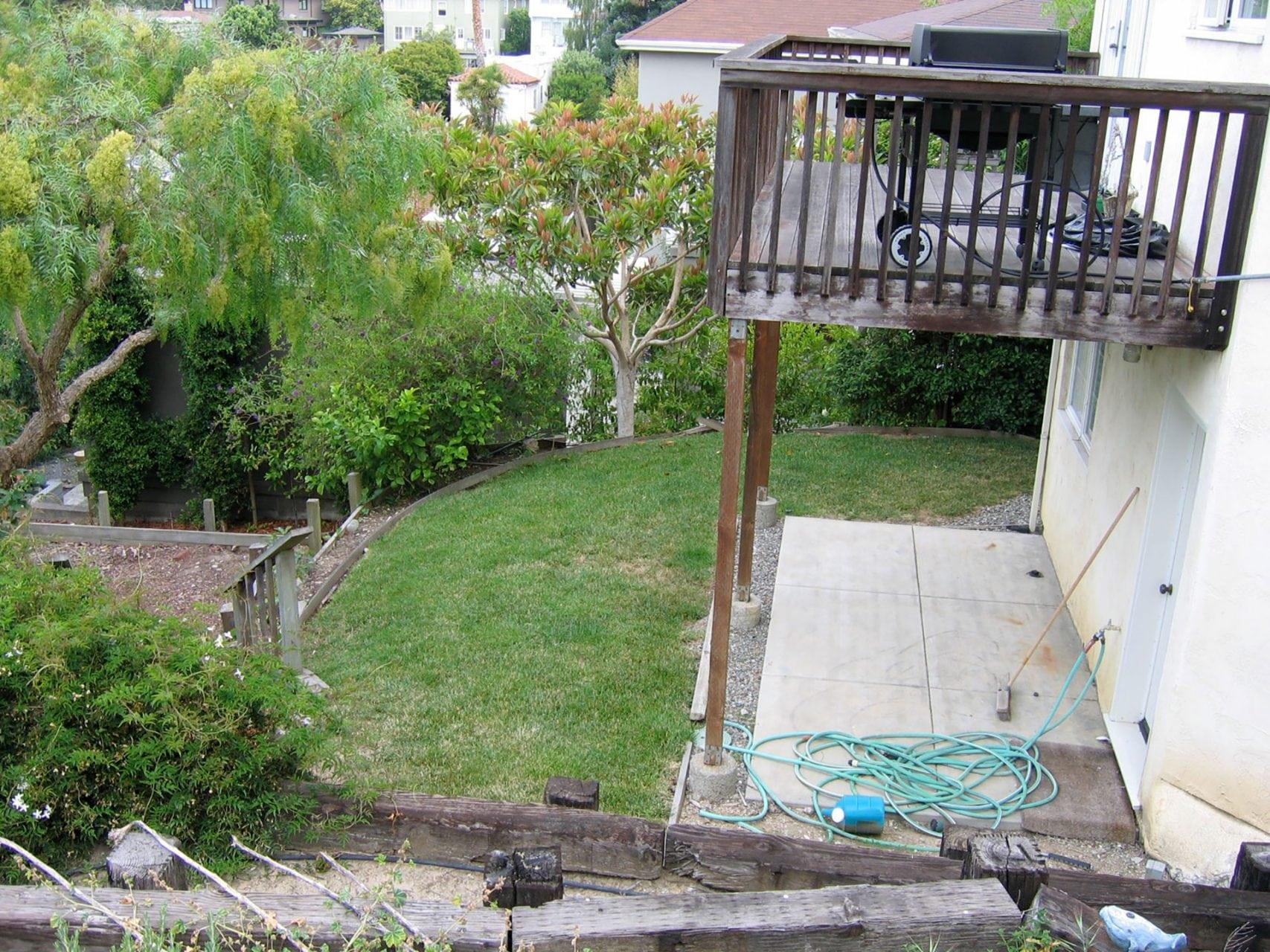 remodeling back deck