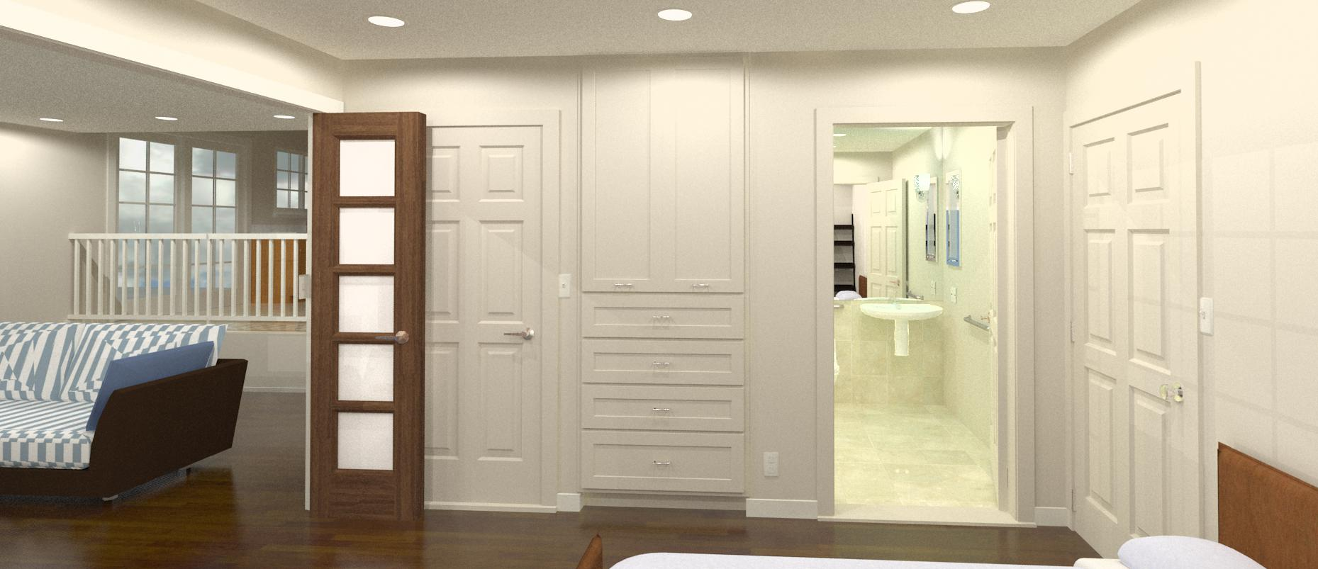 3d master suite design