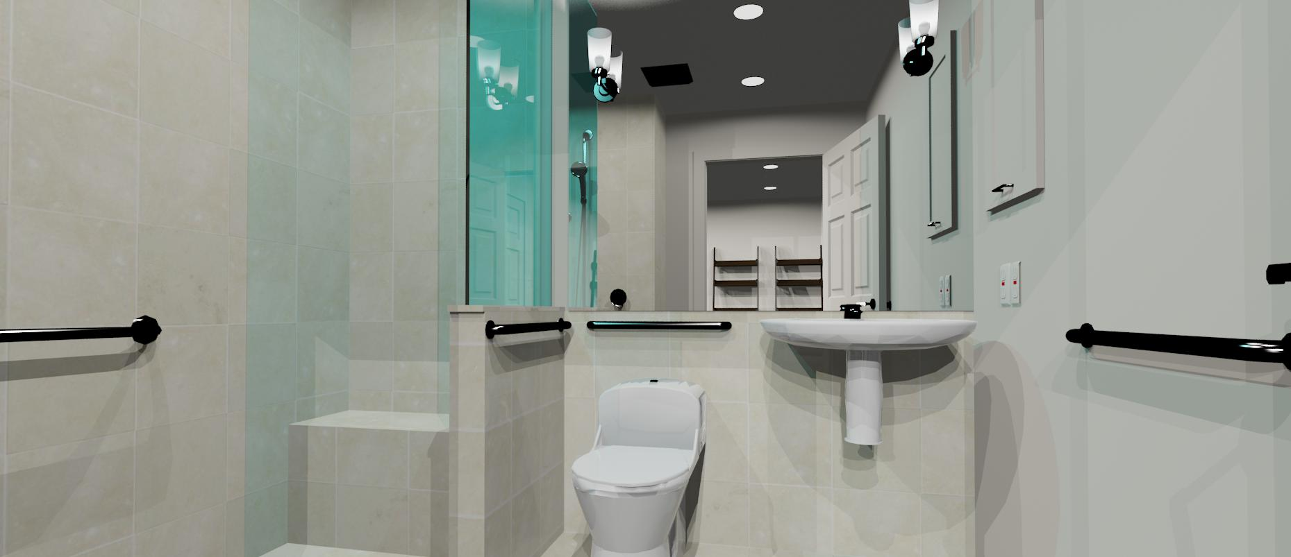 3d design bathroom