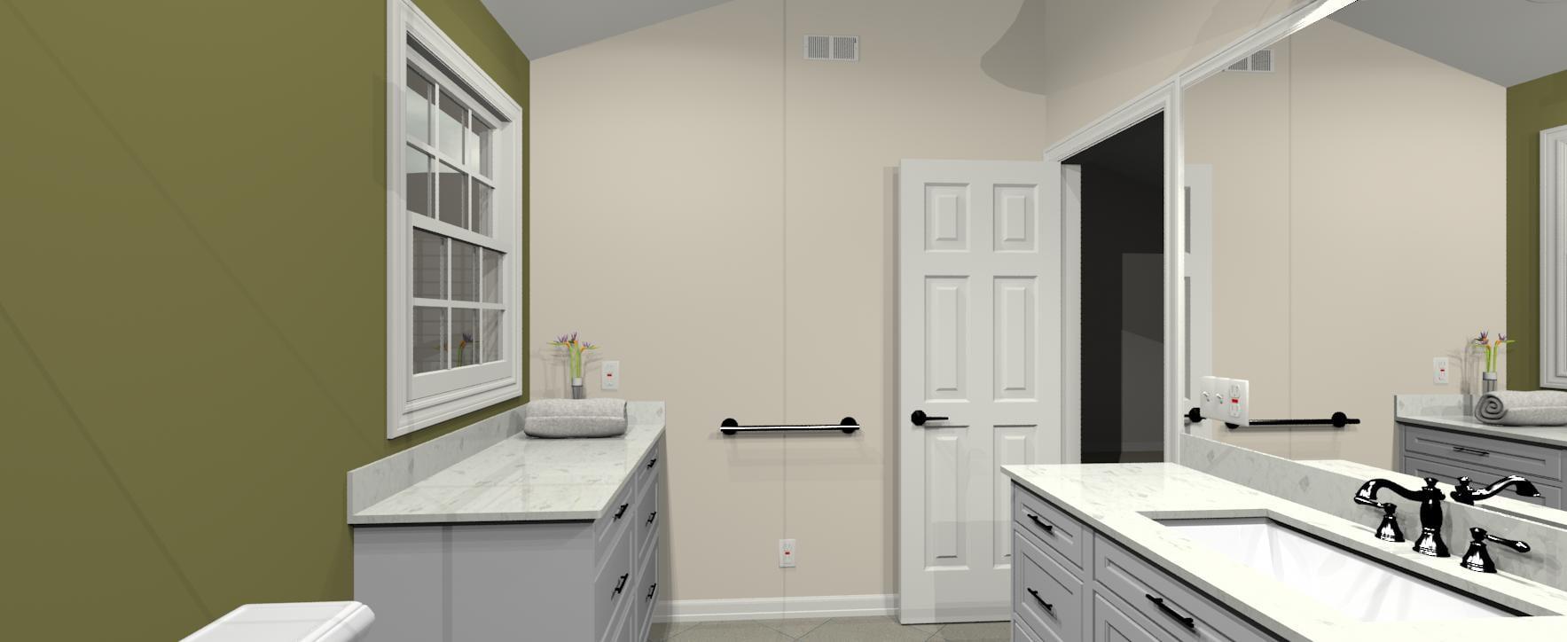 3d design bathroom