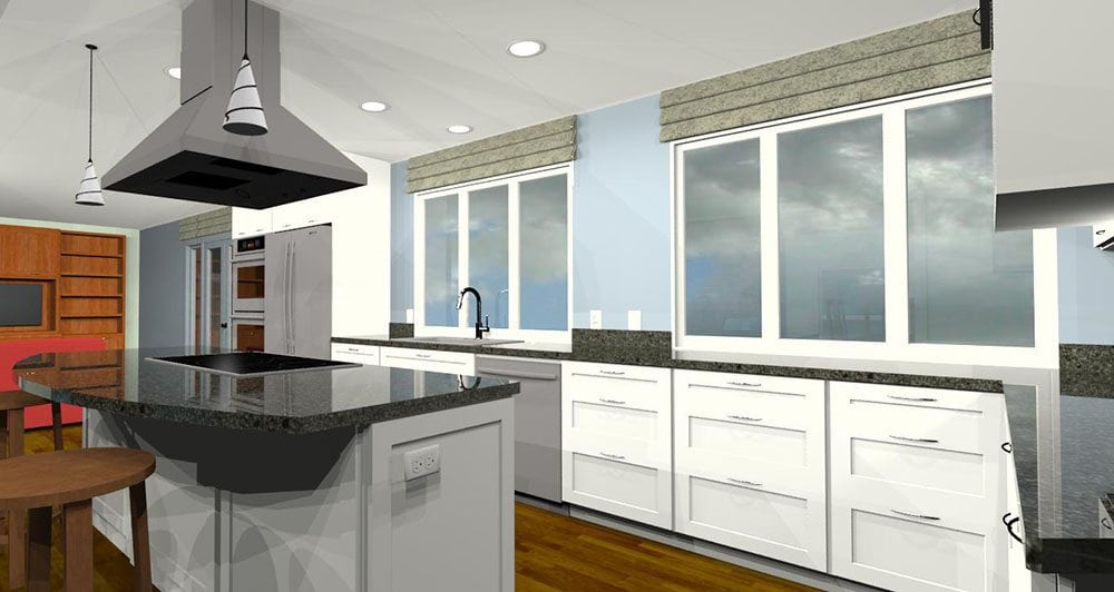 3d design kitchen