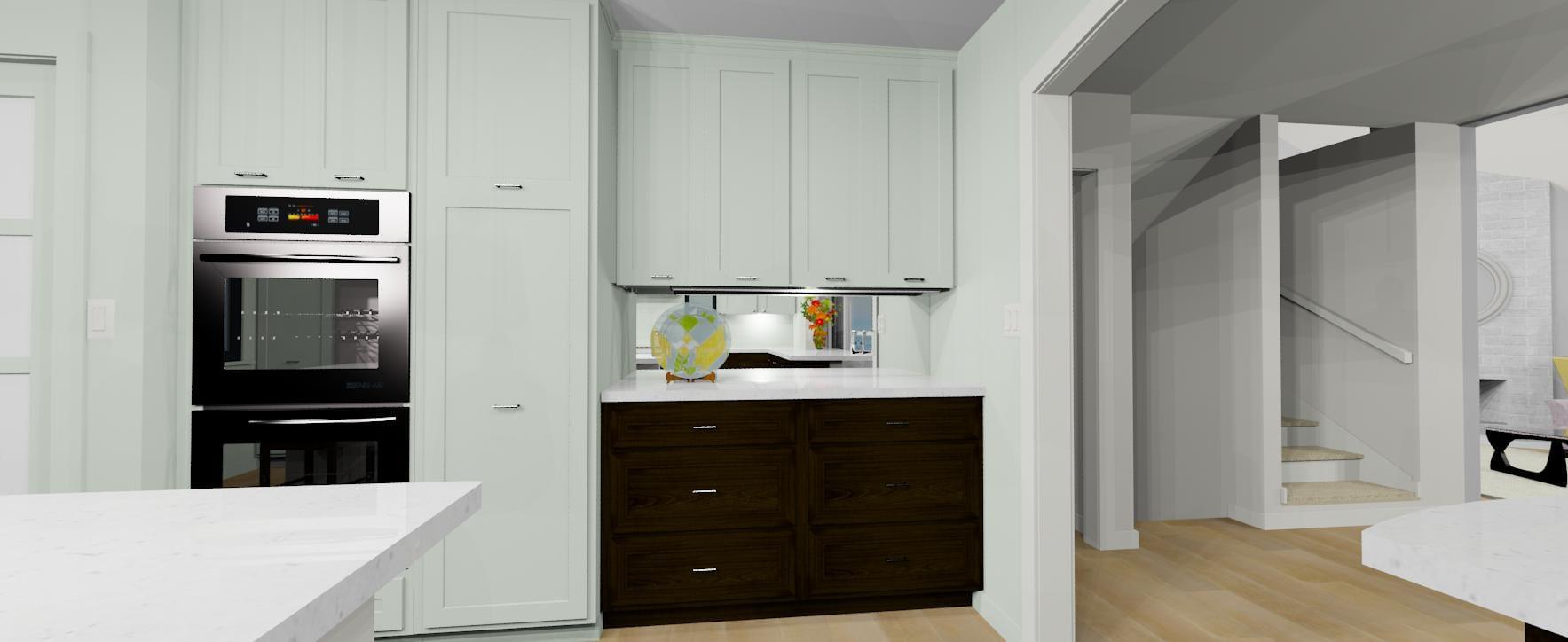 3d kitchen layout