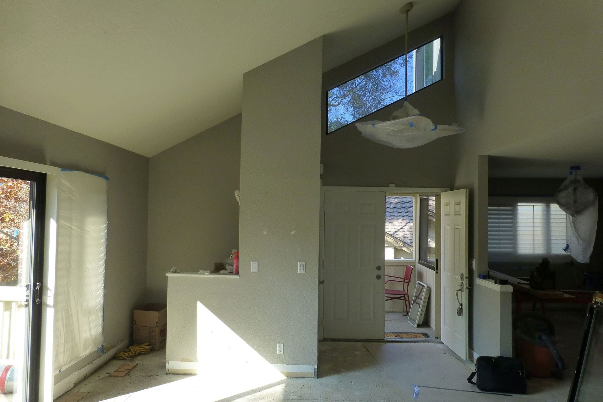 Townhouse before being completely made-over by Gordon Reese Construction