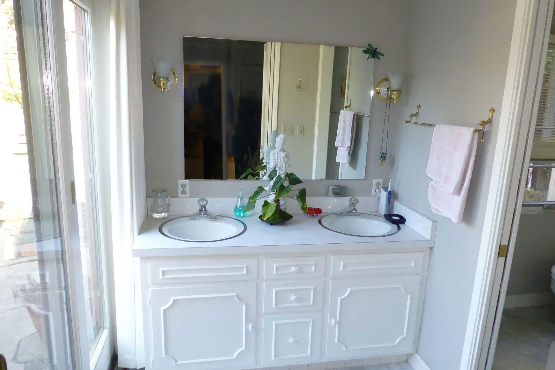 master bathroom pre-remodel