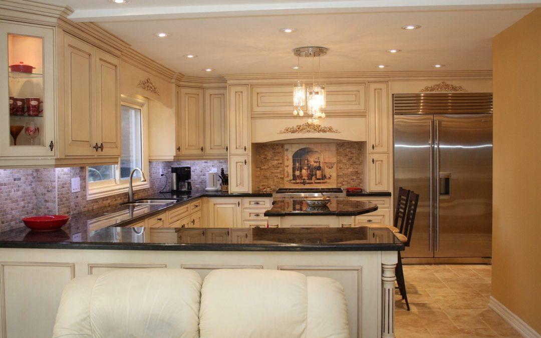 modern trendy kitchen