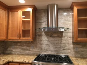 high performance hood fan and stove