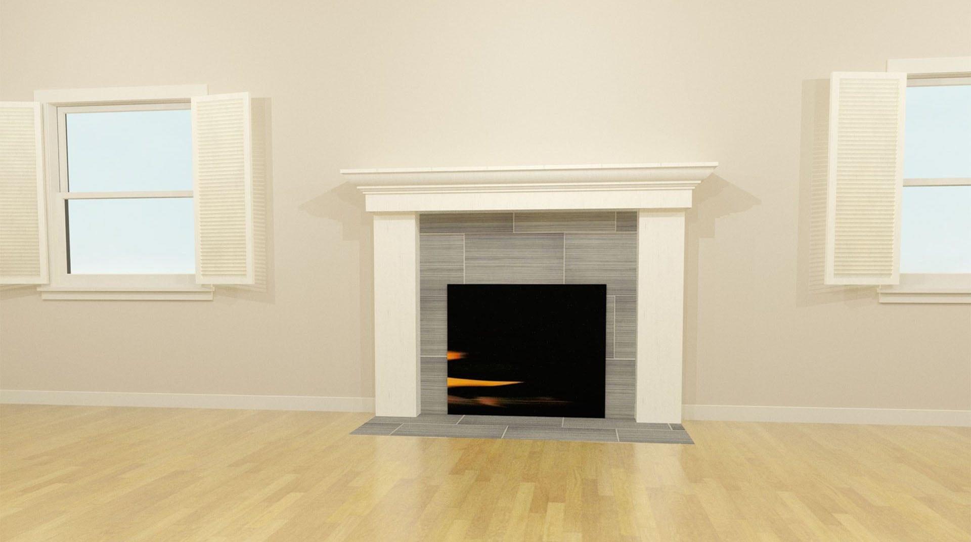 fireplace 3d design