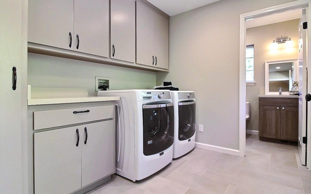 Lovely Laundry Room & Back Entry Bathroom Remodel
