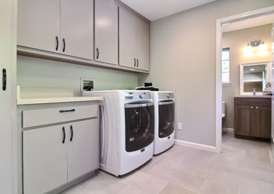 Lovely Laundry Room & Back Entry Bathroom Remodel