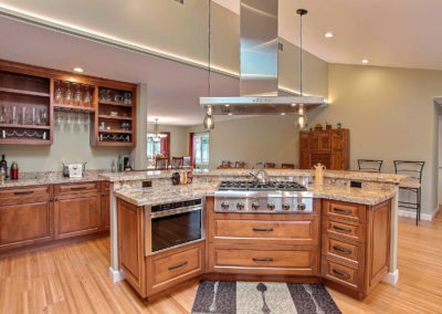 walnut creek open concept kitchen gordon reese design build