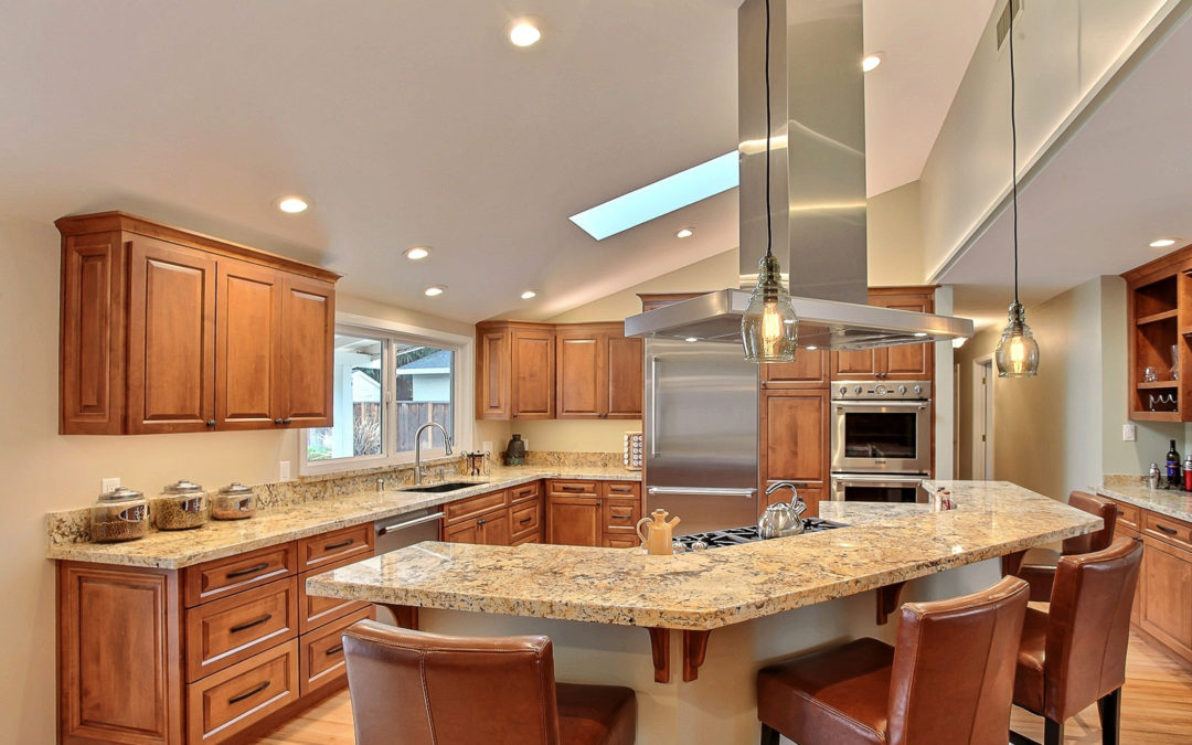 Open-Concept Kitchen with Captain's Cooktop