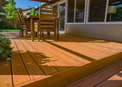 Deck Floorboards Detail