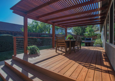 Deck Side of House