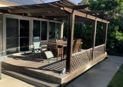 Deck from Lawn