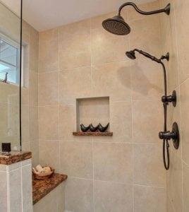 bathroom shower features