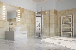 cons of heated bathroom floors